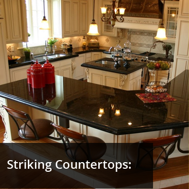 Striking Countertops