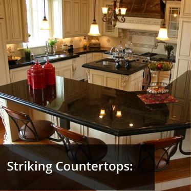 Striking Countertops